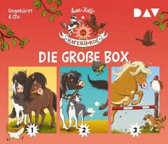 Die Haferhorde - Die große Box, 6 Audio-CDs, Suza Kolb
