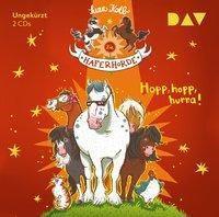 Die Haferhorde - Hopp, hopp, hurra!, 2 Audio-CDs, Suza Kolb
