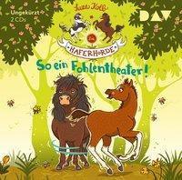 Die Haferhorde - So ein Fohlentheater!, 2 Audio-CDs, Suza Kolb