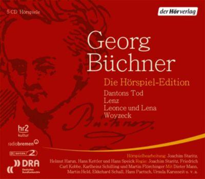 Die Hörspiel-Edition, 5 Audio-CDs, Georg Büchner