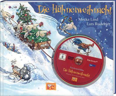 Die Hühnerweihnacht, m. DVD, Mecka Lind, Lars Rudebjer