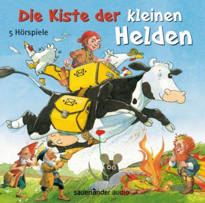 Die Kiste der kleinen Helden, 5 Audio-CDs, Leo Lionni, Tilde Michels, Alexander Steffensmeier, Fredrik Vahle