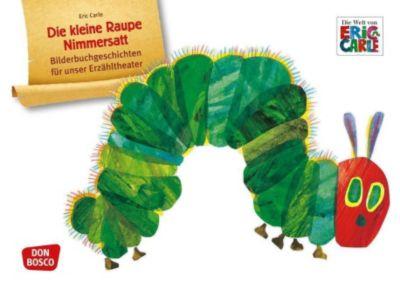 Die kleine Raupe Nimmersatt, Kamishibai Bildkartenset, Eric Carle
