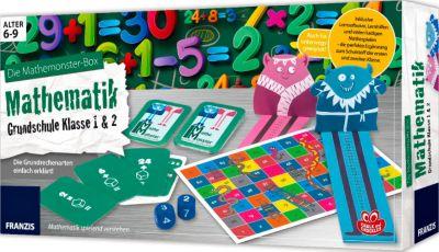 Die Mathemonster-Box: Mathematik Grundschule Klasse 1 & 2, Tina Herold