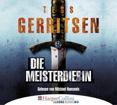 Die Meisterdiebin, 6 Audio-CDs, Tess Gerritsen