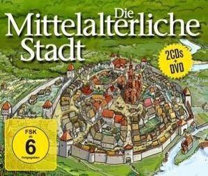 Die Mittelalterliche Stadt.2cd+Dvd, Diverse Interpreten