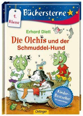 Die Olchis Büchersterne Band 2: Die Olchis und der Schmuddel-Hund, Erhard Dietl