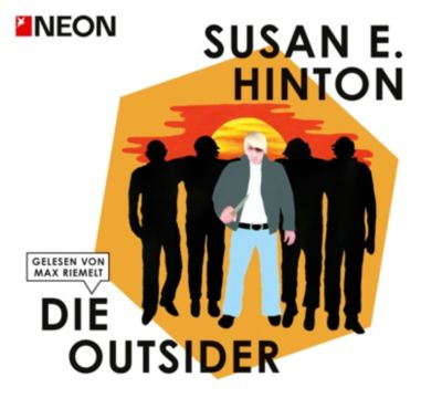 Die Outsider, 5 Audio-CDs, Susan E. Hinton