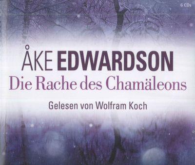 Die Rache des Chamäleons, 6 Audio-CDs, Åke Edwardson
