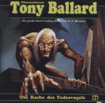 Die Rache des Todesvogel, 1 Audio-CD, A. F. Morland
