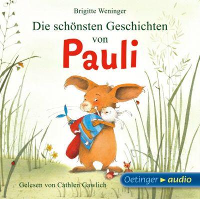 Die schönsten Geschichten von Pauli, 1 Audio-CD, Brigitte Weninger