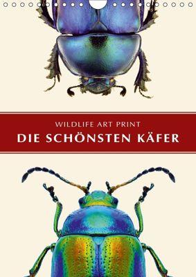 Die schönsten Käfer (Wandkalender 2018 DIN A4 hoch), Wildlife Art Print