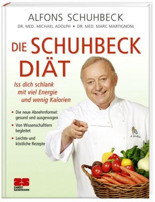Die Schuhbeck-Diät, Alfons Schuhbeck, Michael Adolph, Marc Martignoni
