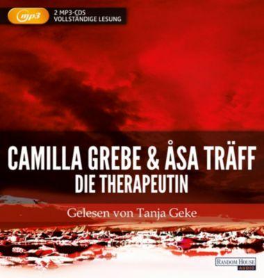 Die Therapeutin, 2 MP3-CDs, Camilla Grebe, Åsa Träff