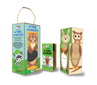 Die Tiere des Waldes (Ökowürfelspiel)