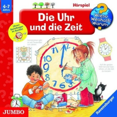 Die Uhr und die Zeit, Audio-CD, Angela Weinhold