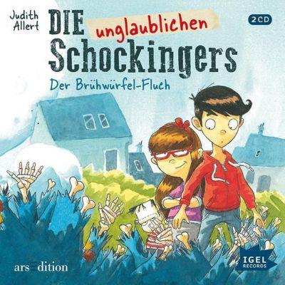 Die unglaublichen Schockingers - Der Brühwürfel-Fluch, 2 Audio-CDs, Judith Allert