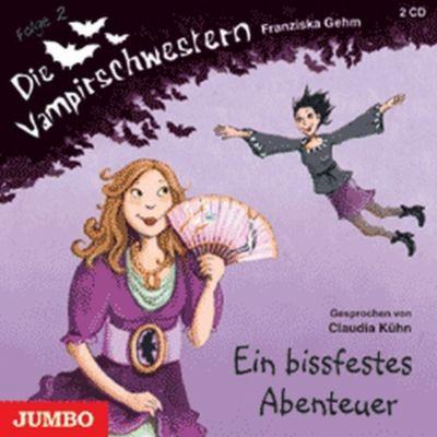 Die Vampirschwestern Band 2: Ein bissfestes Abenteuer (2 Audio-CDs), Franziska Gehm