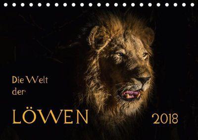 Die Welt der Löwen (Tischkalender 2018 DIN A5 quer), Barbara Bethke