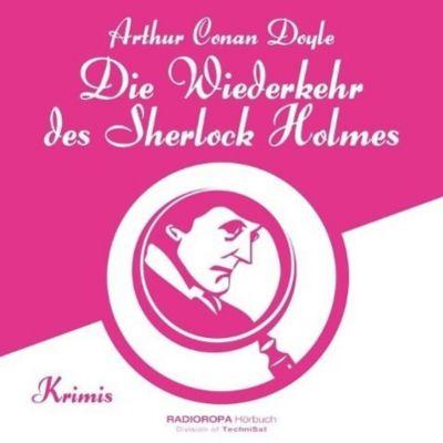Die Wiederkehr des Sherlock Holmes, 12 CDs + MP3-CD, Arthur Conan Doyle