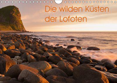 Die wilden Küsten der Lofoten (Wandkalender 2019 DIN A4 quer), Michael Jörrn