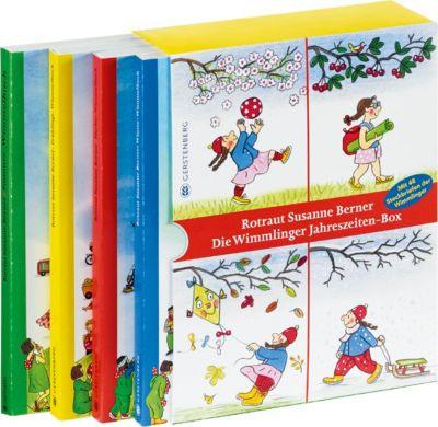 Die Wimmlinger Jahreszeiten-Box, 4 Bde., Rotraut Susanne Berner
