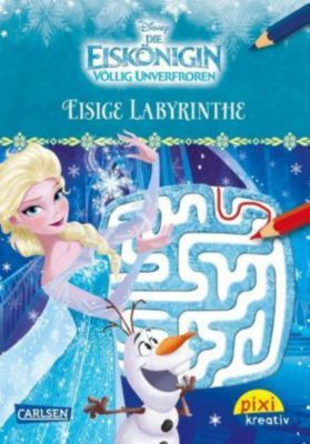 Disney: Die Eiskönigin - Völlig unverfroren, Eisige Labyrinthe, Walt Disney