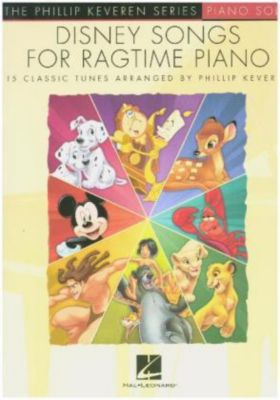Disney Songs -For Ragtime Piano-, Phillip Keveren