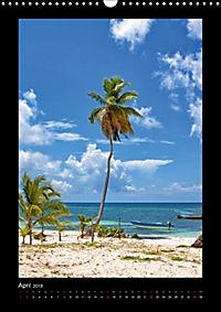 Dominikanische Republik (Wandkalender 2018 DIN A3 hoch) Dieser erfolgreiche Kalender wurde dieses Jahr mit gleichen Bild - Produktdetailbild 4