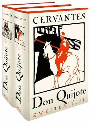 Don Quijote, 2 Bde., Miguel de Cervantes Saavedra