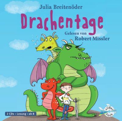 Drachentage, 2 Audio-CDs, Julia Breitenöder