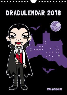 Draculendar 2018 (Wandkalender 2018 DIN A4 hoch), N N