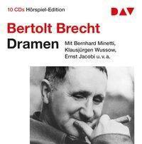 Dramen, 10 Audio-CDs, Bertolt Brecht