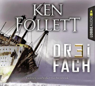 Dreifach, 6 Audio-CDs, Ken Follett