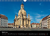 Dresden-Saxony-Germany-Europe / UK-Version (Wall Calendar 2018 DIN A4 Landscape) - Produktdetailbild 3