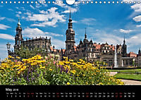 Dresden-Saxony-Germany-Europe / UK-Version (Wall Calendar 2018 DIN A4 Landscape) - Produktdetailbild 5