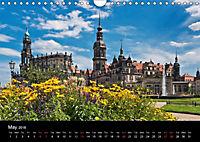 Dresden-Saxony-Germany-Europe / UK-Version (Wall Calendar 2018 DIN A4 Landscape) - Produktdetailbild 5