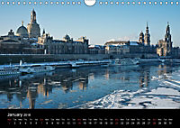 Dresden-Saxony-Germany-Europe / UK-Version (Wall Calendar 2018 DIN A4 Landscape) - Produktdetailbild 1