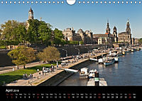 Dresden-Saxony-Germany-Europe / UK-Version (Wall Calendar 2018 DIN A4 Landscape) - Produktdetailbild 4