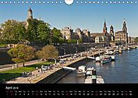 Dresden-Saxony-Germany-Europe / UK-Version (Wall Calendar 2018 DIN A4 Landscape) - Produktdetailbild 4