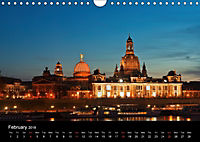 Dresden-Saxony-Germany-Europe / UK-Version (Wall Calendar 2018 DIN A4 Landscape) - Produktdetailbild 2