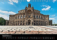 Dresden-Saxony-Germany-Europe / UK-Version (Wall Calendar 2018 DIN A4 Landscape) - Produktdetailbild 9