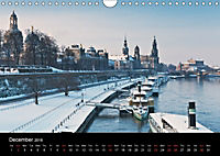 Dresden-Saxony-Germany-Europe / UK-Version (Wall Calendar 2018 DIN A4 Landscape) - Produktdetailbild 12