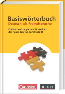 Duden - Basiswörterbuch Deutsch als Fremdsprache