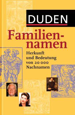 Duden - Familiennamen