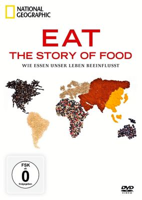 Eat - The Story of Food, 2 DVDs, National Geographic