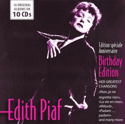 Edith Piaf - Birthday Edition - 16 Original Albums, 10 CDs, Edith Piaf