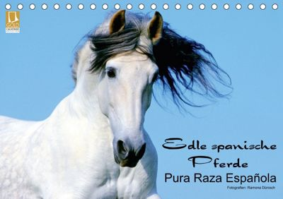 Edle spanische Pferde - Pura Raza Espanola (Tischkalender 2018 DIN A5 quer), Ramona Dünisch