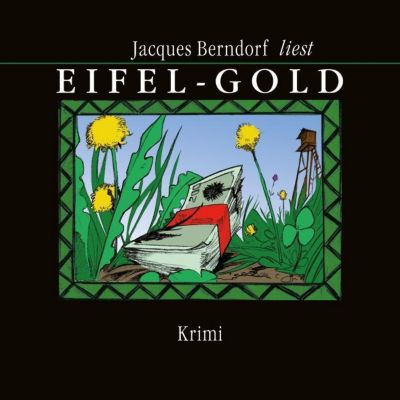 Eifel-Gold, 1 MP3-CD, Jacques Berndorf
