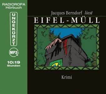 Eifel-Müll, 1 MP3-CD, Jacques Berndorf